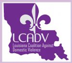 image of the logo for Louisiana Coalition Against Domestic Violence