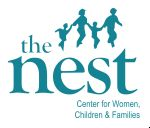 image of the logo for The Nest - Center for Women, Children, and Famillies