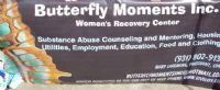 logo of Butterfly Moments Inc. Women's Recovery Center