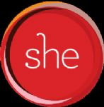 image of the logo for S.H.E. (Support, Help & Empowerment)
