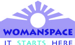 image of the logo for Womanspace, Inc.        1530 Brunswick Avenue  Lawrenceville, NJ 08648
