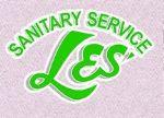 image of logo for Les' Sanitation