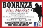 image of logo for Bonanza Flea Market