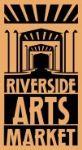 image of logo for Riverside Arts Market