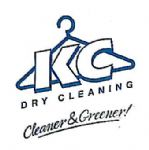 image of logo for KC Dry Cleaners (formerly Milton Executive Dry Cleaners)