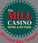 image of logo for The Mill Casino Hotel & RV Park