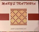 image of logo for Mary's Trattoria